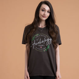 Style: Creator Vintage T Shirt, Color: Chocolate Brown.