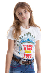 BABY LOOK  DUST WEST INFANTIL BRAVE