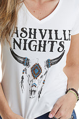 T-SHIRT WEST DUST NASHVILLE