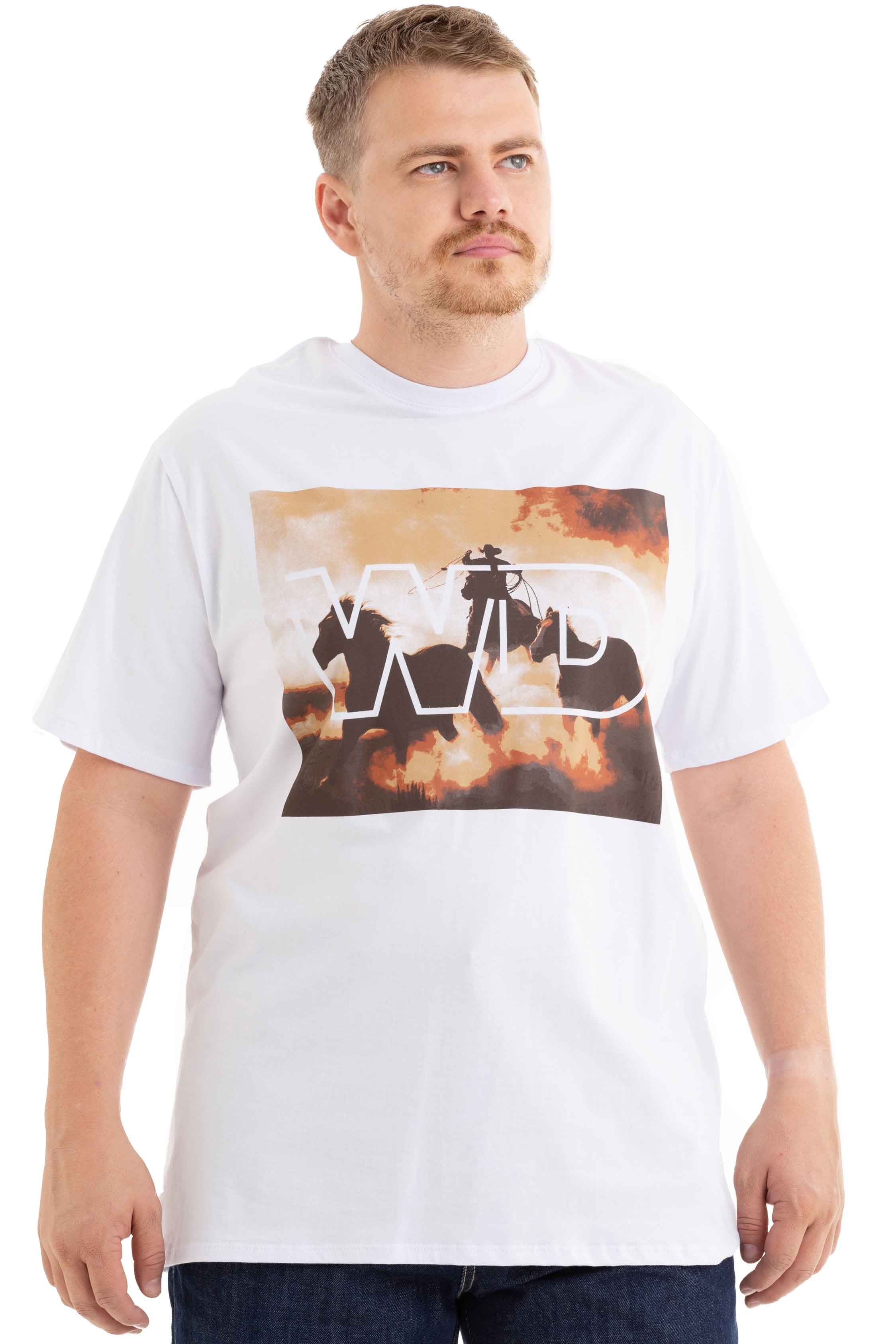 T-SHIRT WEST DUST MASCULINA DALLAS
