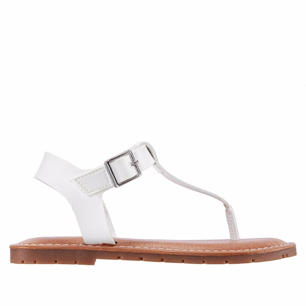 Nina Heddy Sandal in White