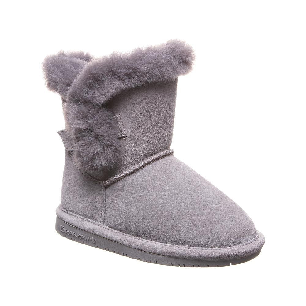 Bearpaw Betsey Gray Boot (Youth)