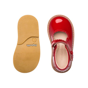 Elephantito Red Patent Mary Jane (Toddler)
