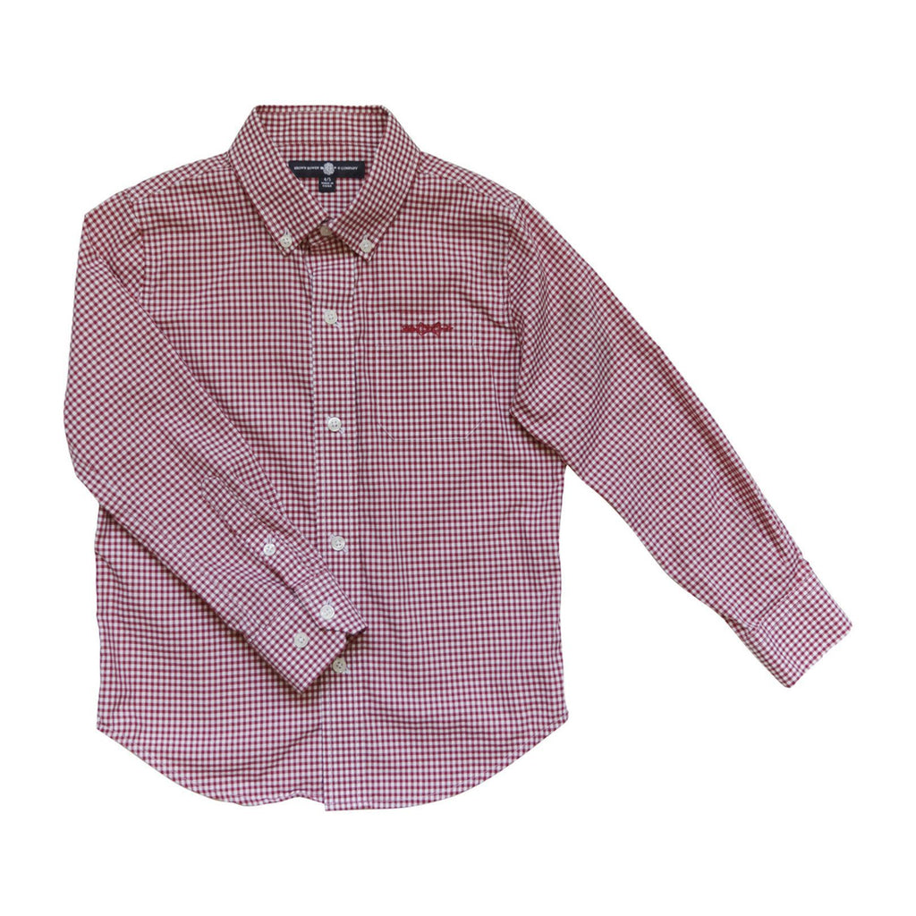 Brown Bowen & Company Rutledge Red Button Down