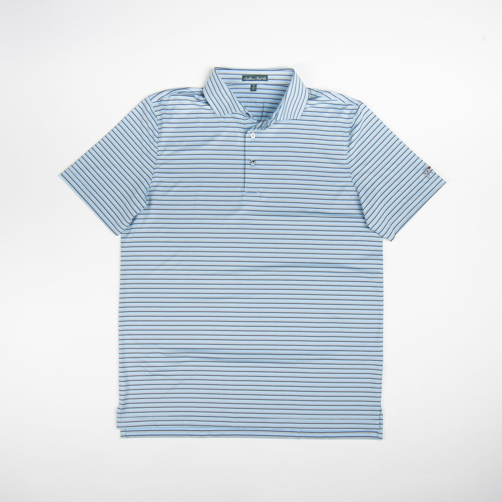 Southern Point Co Performance Polo Ice Blue