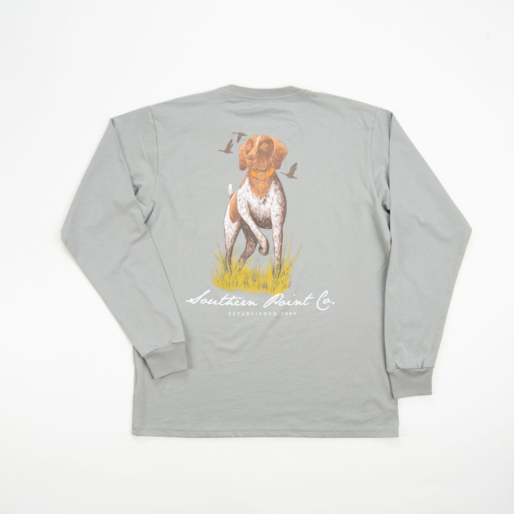 Southern Point Co Signature Tee Granite