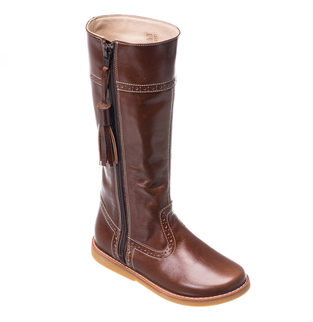 Elephantito Brown Riding Boot