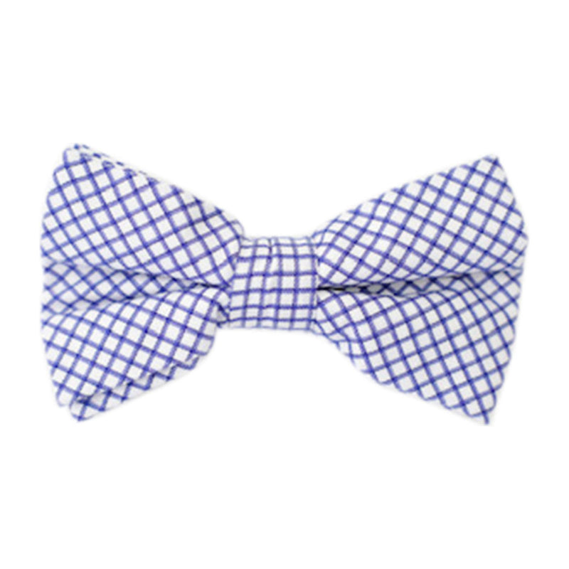 Bowenties Battery Blue Windowpane
