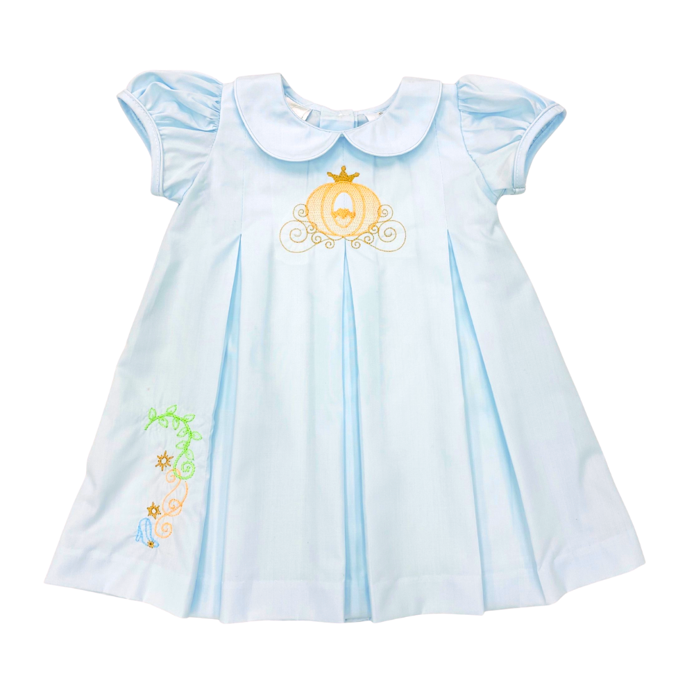 Lulu Bebe Dana Blue Carriage Dress