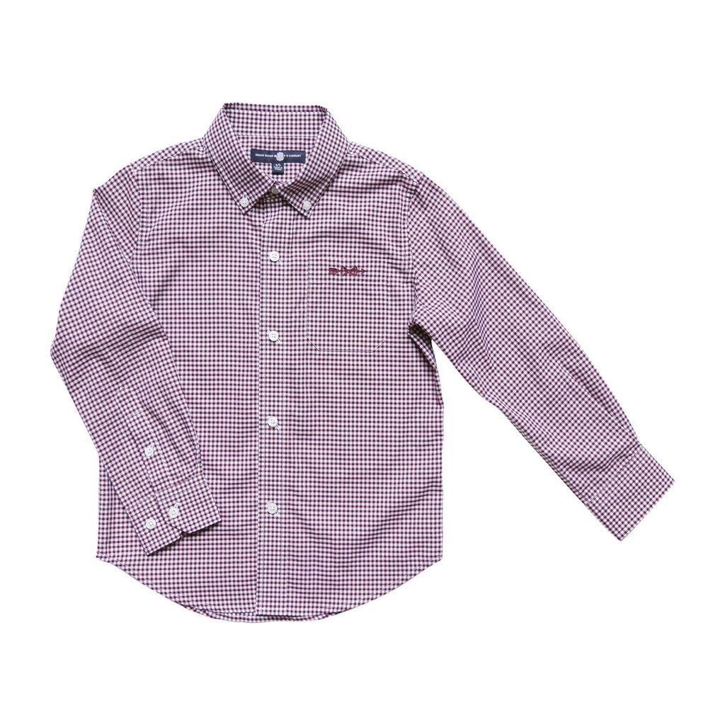 Brown Bowen & Company Gadsden Garnet Button Down