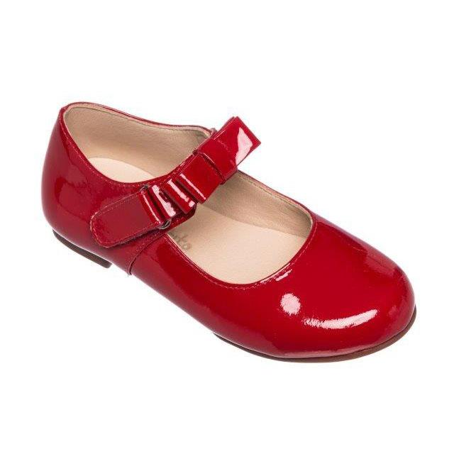 Elephantito Charlotte Mary Jane in Red Patent