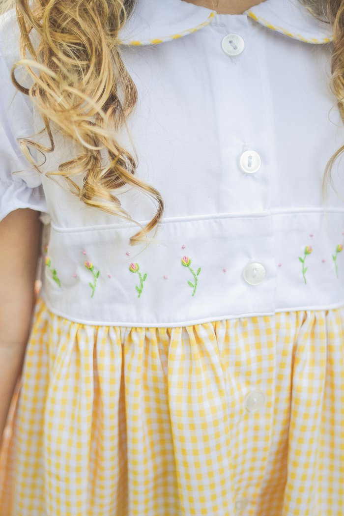 The Proper Peony Pre-Order Daphne Yellow Dress