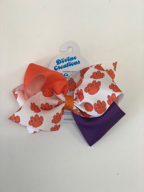 Wee Ones Bows Mini King Colorblock