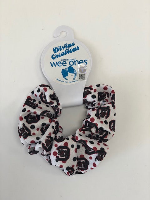 Wee Ones Bows USC Gamecocks Scrunchie