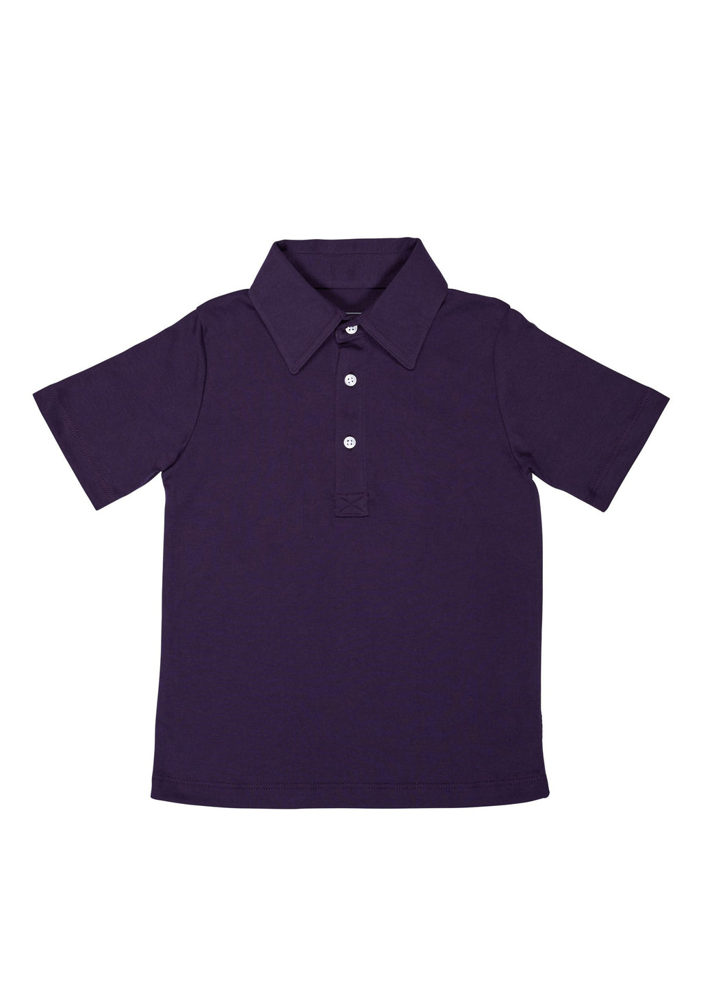 Lila & Hayes Griffin Navy Golf Shirt