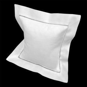 Boutross Classic Hemstitch Square Pillow & Form