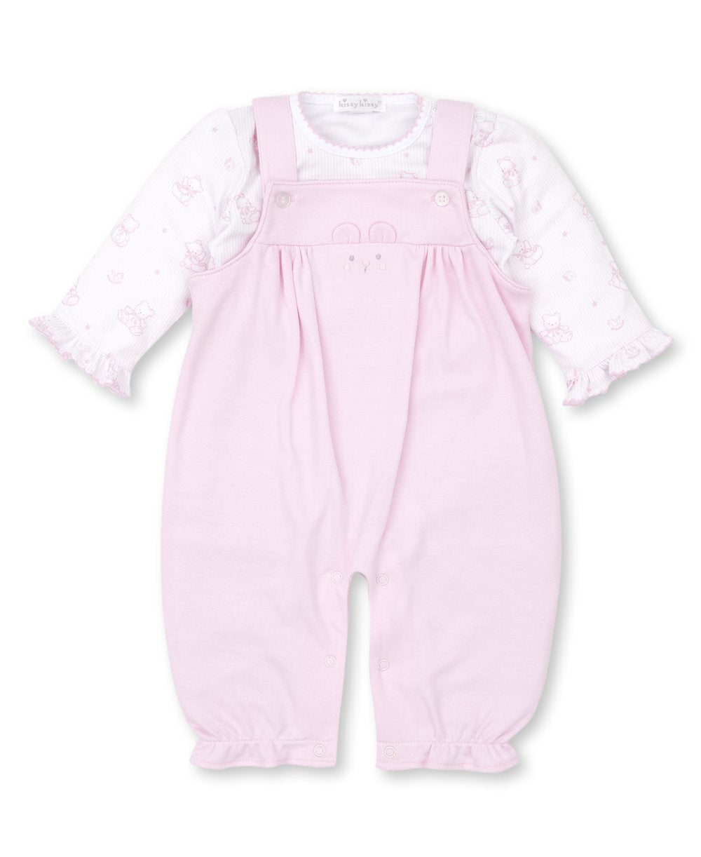 Kissy Kissy Bearly Believable Overall Set