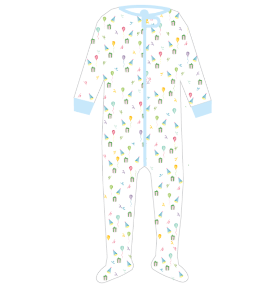 Lullaby Set Once Upon Boy Party Footie