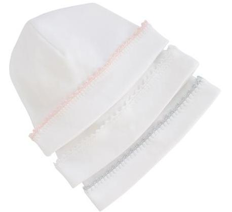 Pixie Lily Jersey Cap in White
