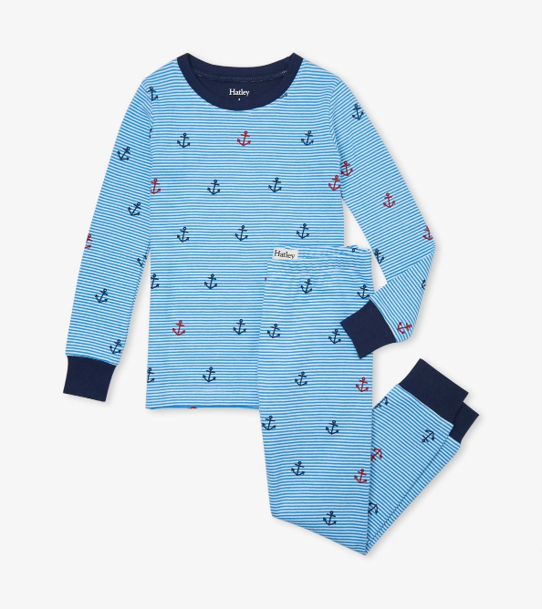 Hatley Anchors Away PJ Set