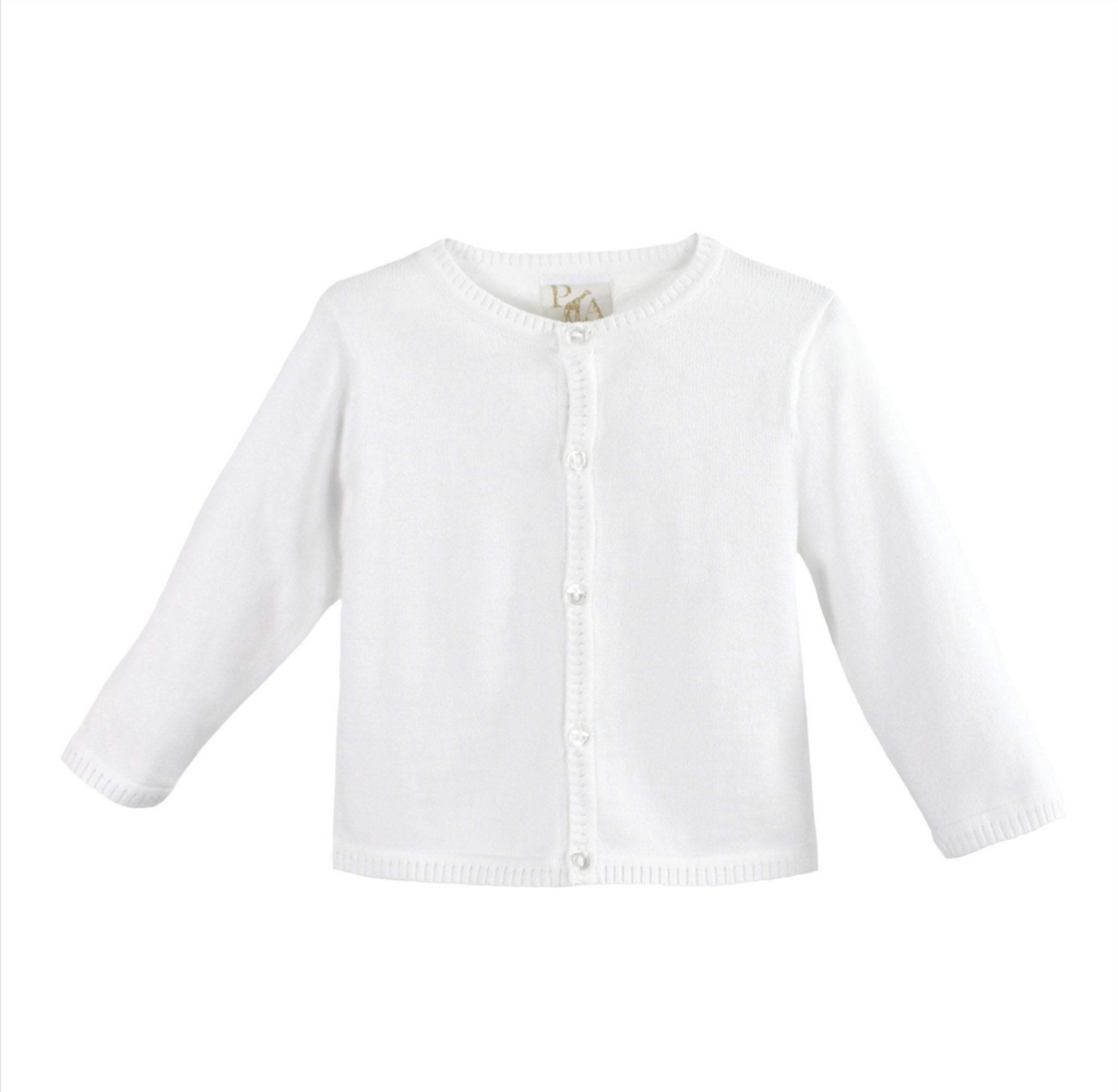 Petit Ami Unisex White Sweater