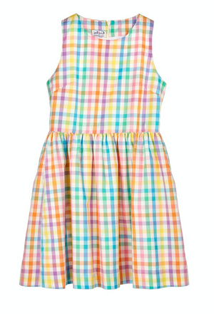 Gabby Summer Check Dress