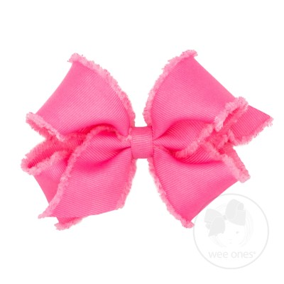 Wee Ones Bows Small Furry Fringe in Various Colors