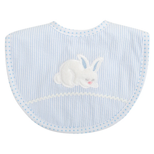3 Marthas Blue Bunny Medium Bib