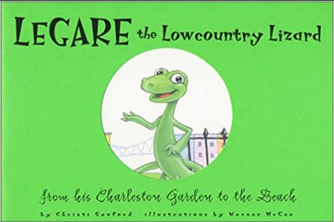 Legare the Lowcountry Lizard: From his Charleston Garden to the Beach