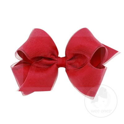 Wee Ones XS Overlay Bow
