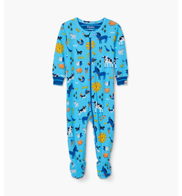 Hatley Barnyard Friends Coverall