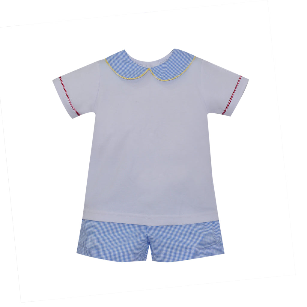 Lullaby Set Sibley Mini Gingham Short Set