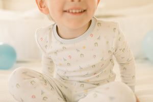 Lullaby Set Sweet Pea Boy Party PJ Set
