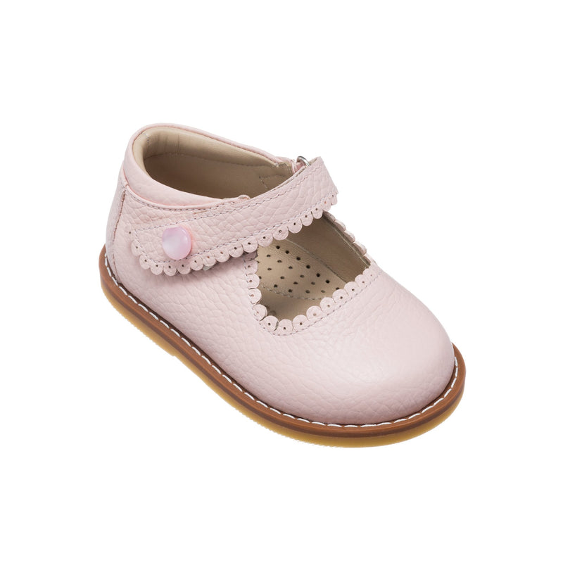 Elephantito Pink Textured Mary Jane (Toddler)