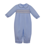 Lullaby Set Blue Stripe Rover Romper