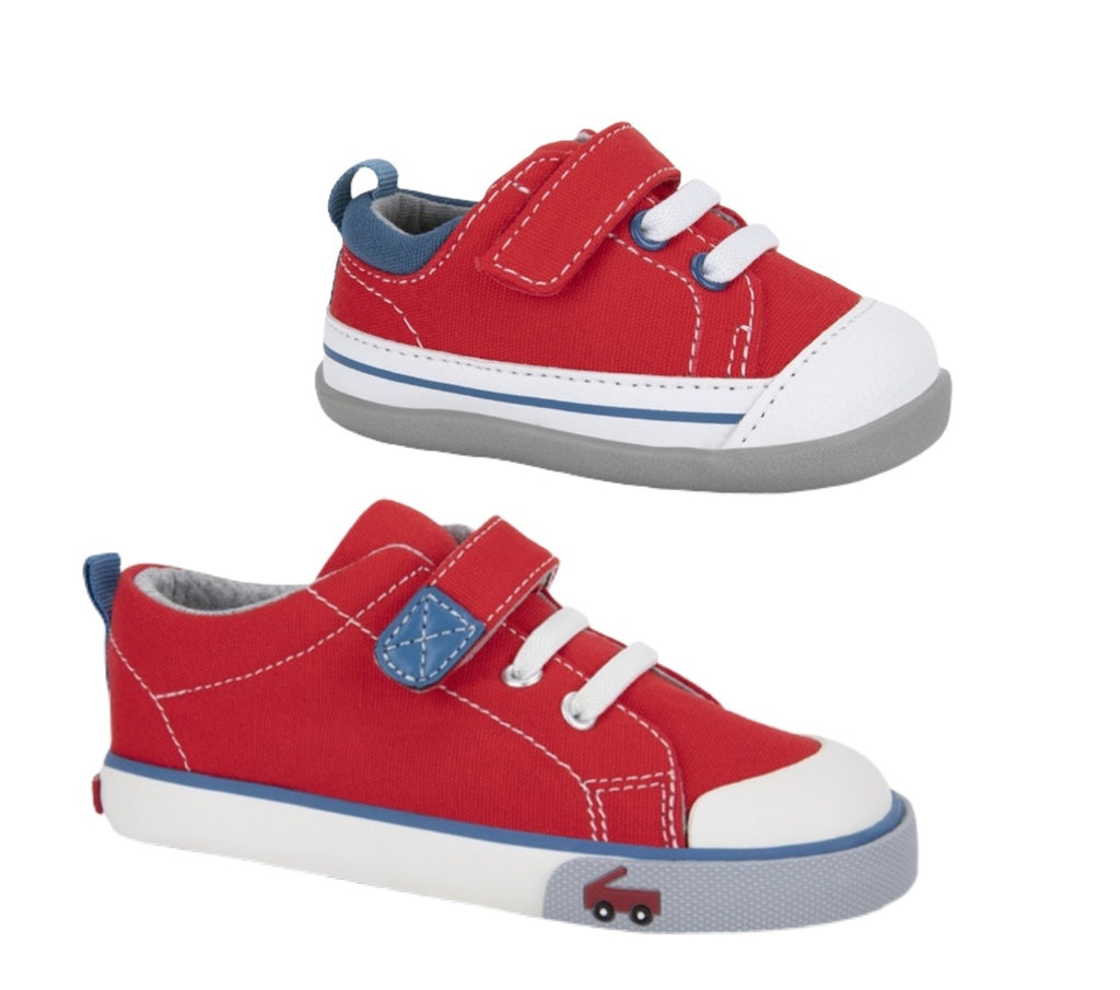Stevie II Red/Blue
