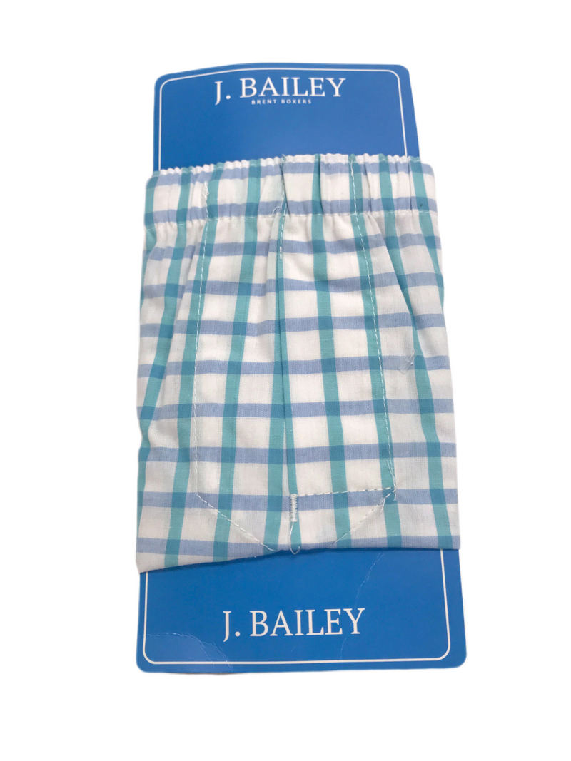 J. Bailey Brent Boxers Marina Plaid
