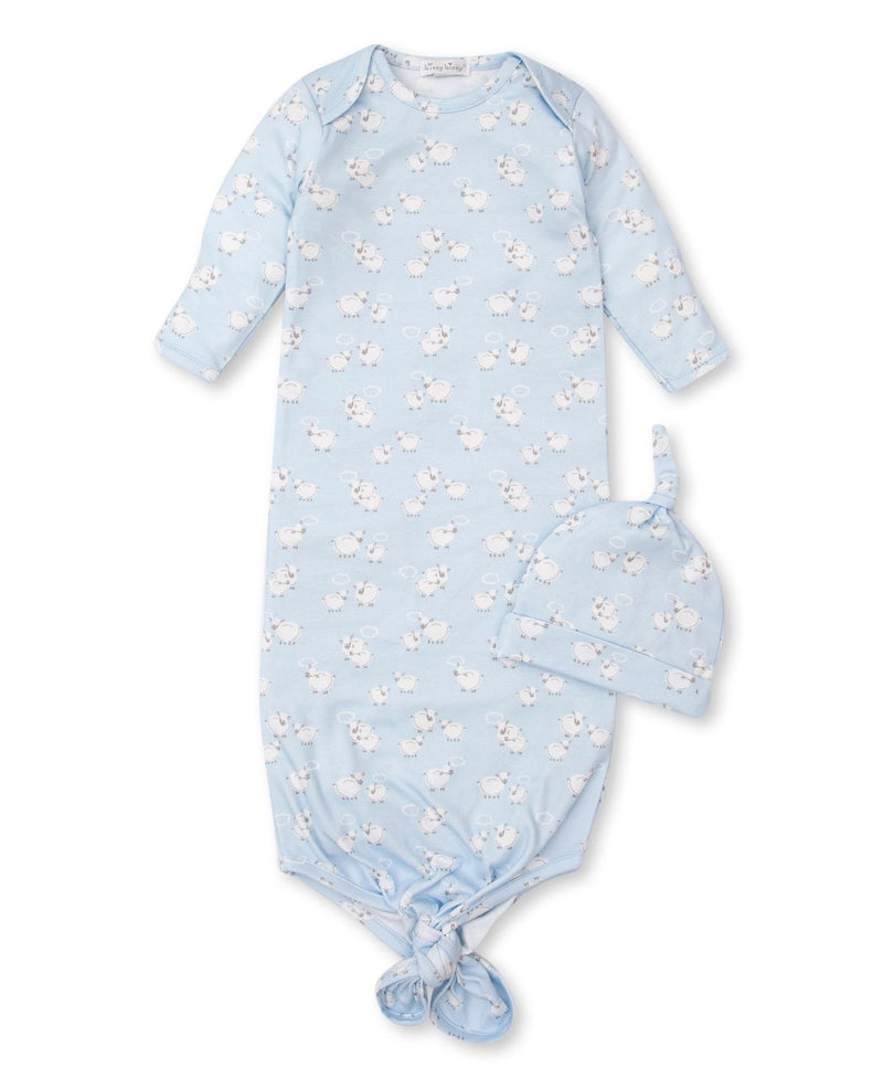 Kissy Kissy Sheep Scramble Blue Sack