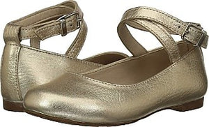 Elephantito French Ballet Flat in Gold