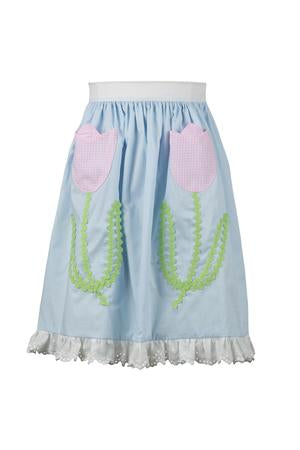 The Proper Peony Tulip Child Apron
