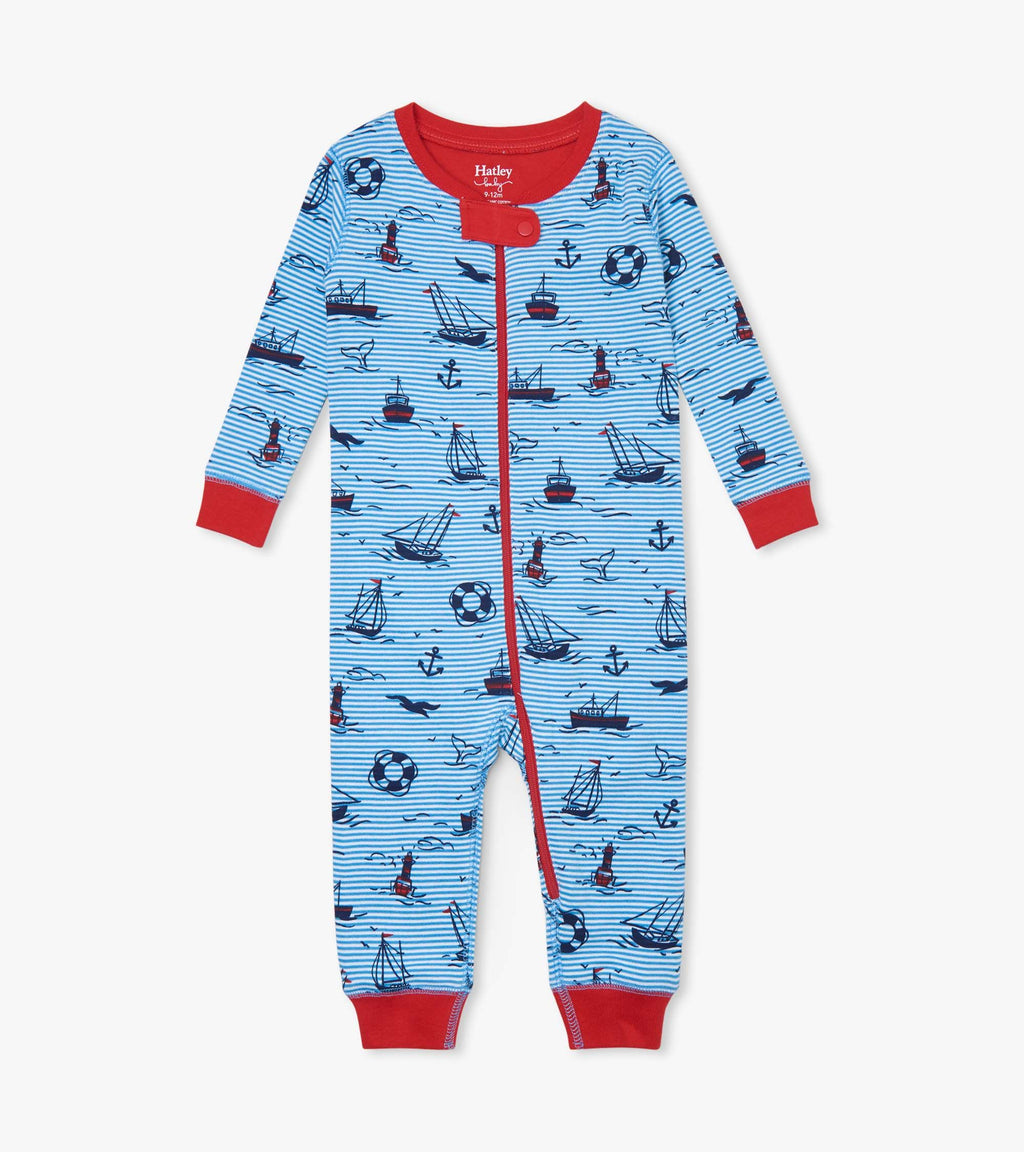 Hatley Out At Sea Blue Coverall