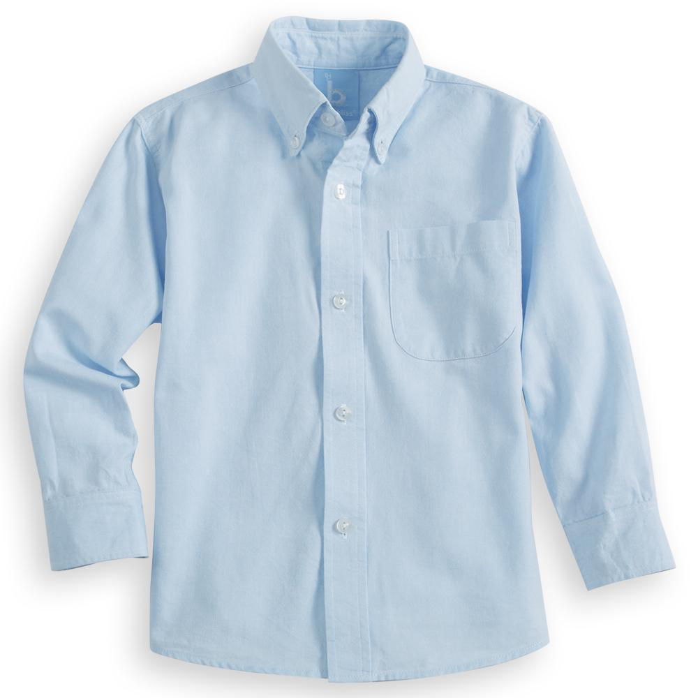 Bella Bliss Oxford Buttondown (Available in Blue and White)