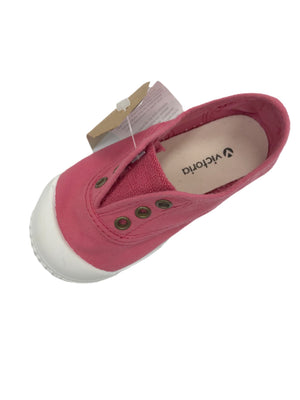 Victoria Slip-On Canvas Shoes (Three Colors)