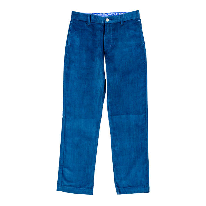 J. Bailey Steel Blue Cord Pant