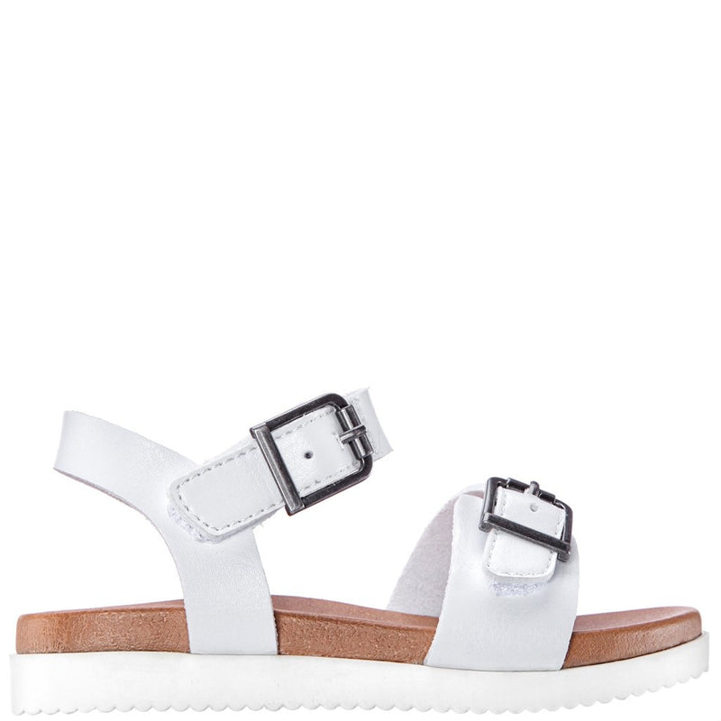Nina Jacklin Sandal in White