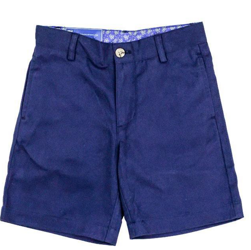 J. Bailey Navy Twill Shorts