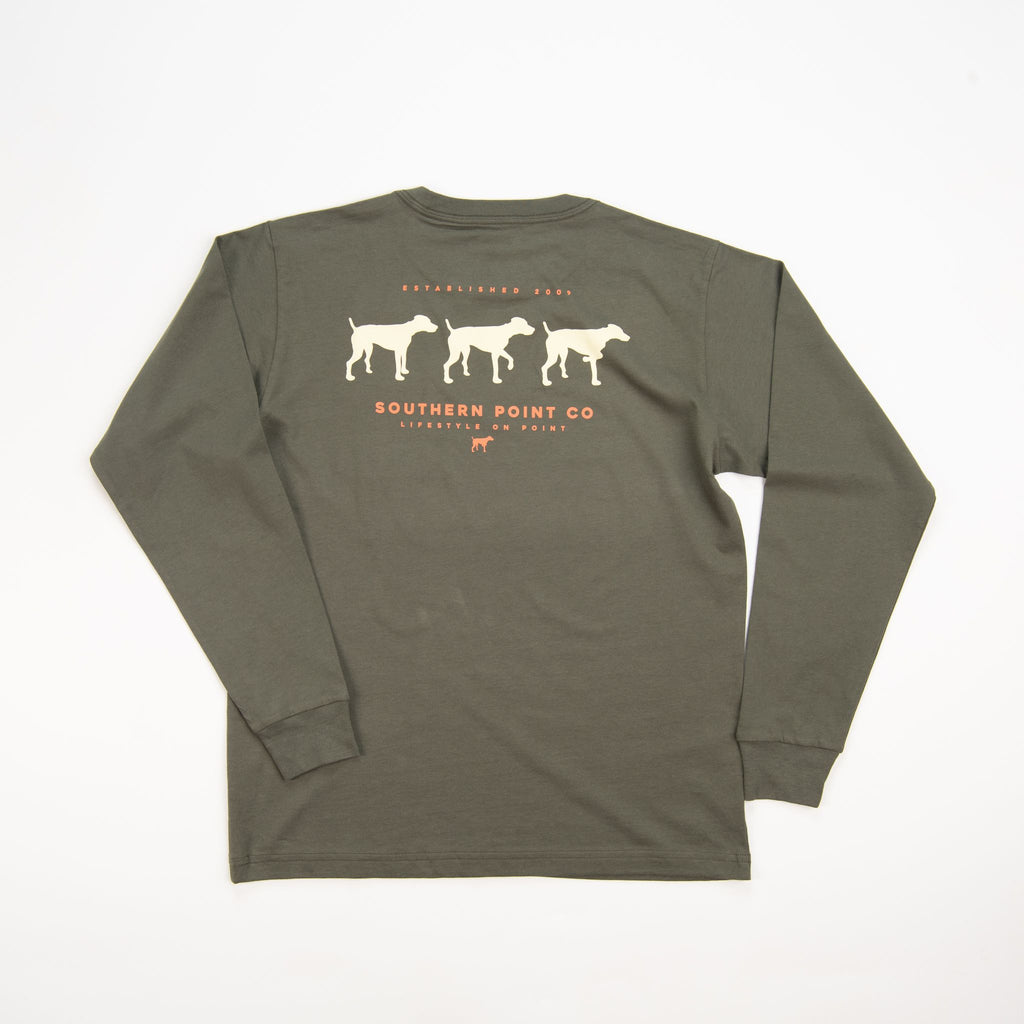 Southern Point Co Signature Tee Moss