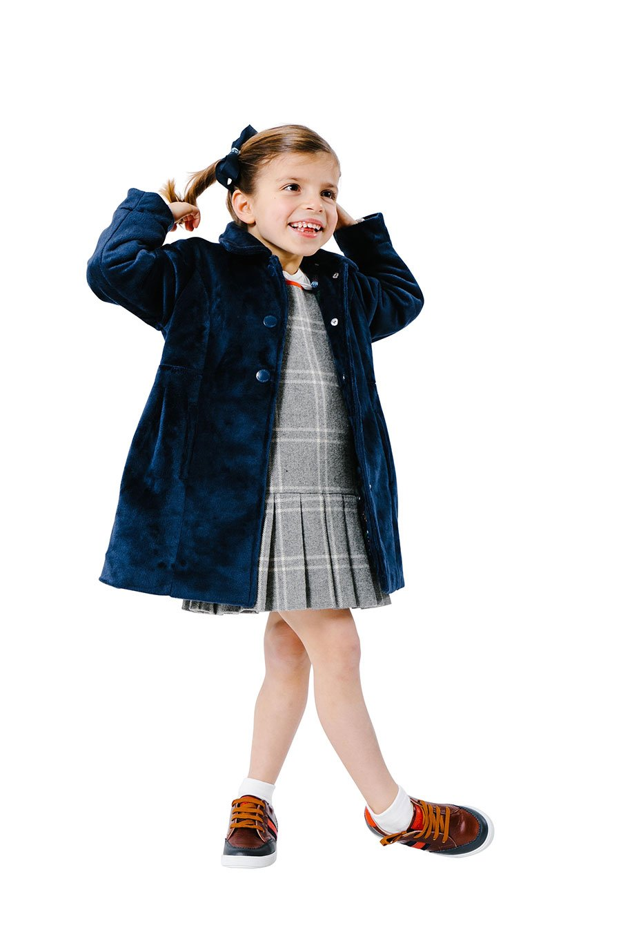 MerriMane Navy Blue Party Coat