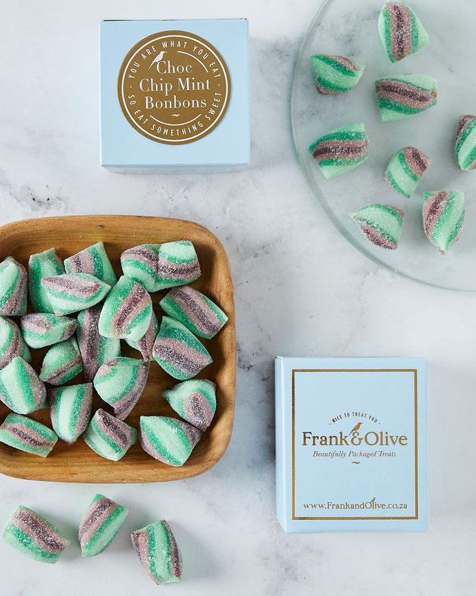 Chocolate Mint Bonbon Mini Box