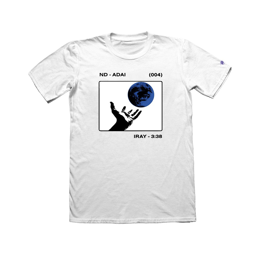 I Revolve Single White T-Shirt